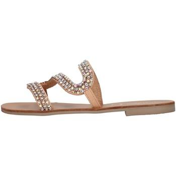 Cipők Női Papucsok S.piero E1-032 BEIGE