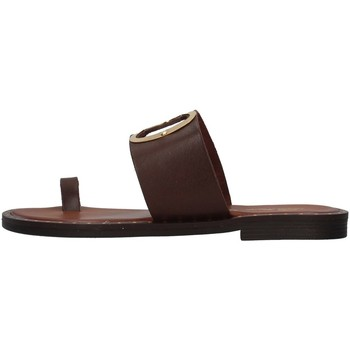 Cipők Női Papucsok S.piero E2-007 BROWN