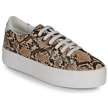 Cipők Női Rövid szárú edzőcipők No Name PLATO M Barna