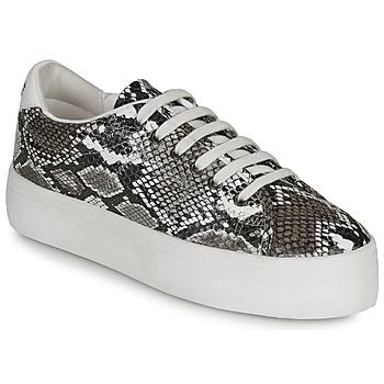 Cipők Női Rövid szárú edzőcipők No Name PLATO M Fehér