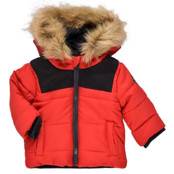 Ruhák Fiú Parka kabátok Ikks NUIT Piros