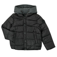 Ruhák Fiú Steppelt kabátok Ikks CORAIL Fekete