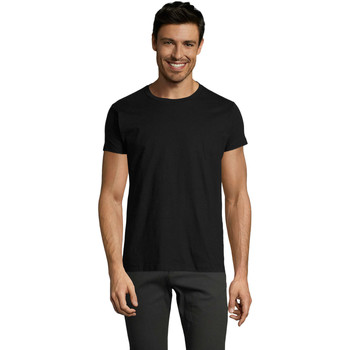 Ruhák Férfi Rövid ujjú pólók Sols Camiseta IMPERIAL FIT color Negro Negro