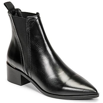 Cipők Női Bokacsizmák Minelli BLERINA Fekete