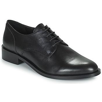 Cipők Női Oxford cipők Minelli FRANCIA Fekete