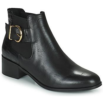 Cipők Női Bokacsizmák Minelli ALINNA Fekete