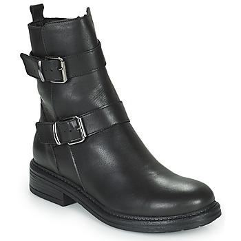 Cipők Női Csizmák Minelli PAULINA Fekete
