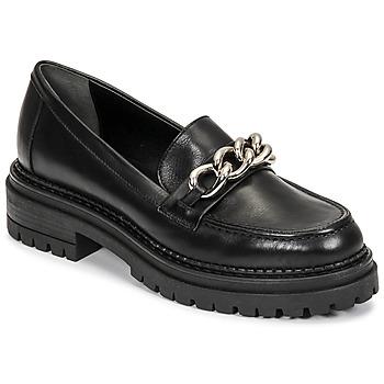 Cipők Női Mokkaszínek Minelli MELINDA Fekete
