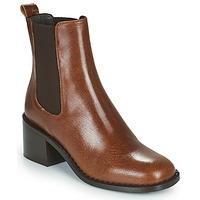 Cipők Női Bokacsizmák Minelli FREYLA Barna