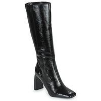 Cipők Női Városi csizmák Minelli PALOMA Fekete