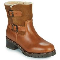 Cipők Női Bokacsizmák Minelli LEILA Barna