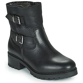 Cipők Női Bokacsizmák Minelli LEILA Fekete