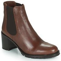 Cipők Női Bokacsizmák Minelli PETRINA Barna