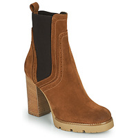 Cipők Női Bokacsizmák Minelli VANILLA Barna
