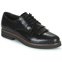 Cipők Női Oxford cipők Minelli SOLENNA Fekete