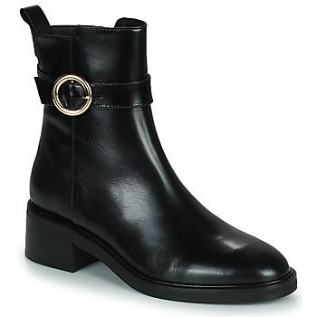 Cipők Női Bokacsizmák Minelli KAMELIA Fekete