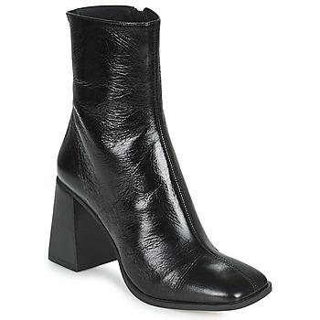 Cipők Női Bokacsizmák Minelli LOULITA Fekete