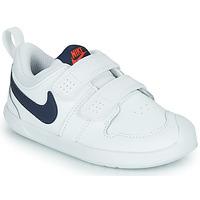 Cipők Gyerek Rövid szárú edzőcipők Nike NIKE PICO 5 (TDV) Fehér / Kék