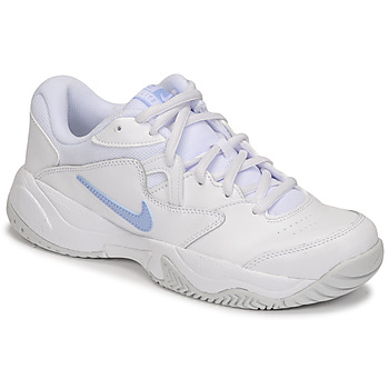 Cipők Női Rövid szárú edzőcipők Nike WMNS NIKE COURT LITE 2 Fehér / Ezüst