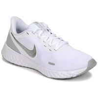 Cipők Női Multisport Nike WMNS NIKE REVOLUTION 5 Fehér / Ezüst
