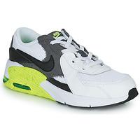 Cipők Gyerek Rövid szárú edzőcipők Nike NIKE AIR MAX EXCEE (PS) Fehér / Fekete