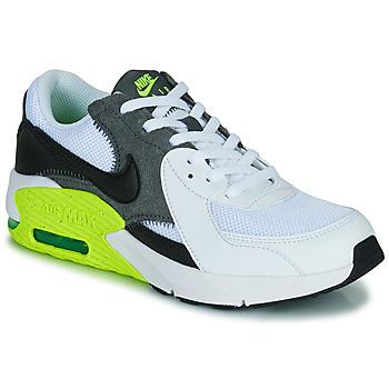 Cipők Gyerek Rövid szárú edzőcipők Nike NIKE AIR MAX EXCEE (GS) Fehér / Fekete