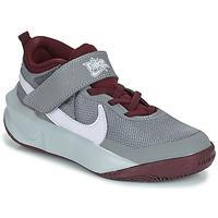 Cipők Gyerek Magas szárú edzőcipők Nike TEAM HUSTLE D 10 (PS) Szürke / Bordó