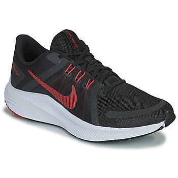 Cipők Férfi Futócipők Nike NIKE QUEST 4 Fekete  / Piros
