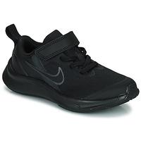 Cipők Gyerek Futócipők Nike NIKE STAR RUNNER 3 (PSV) Fekete
