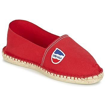 Cipők Férfi Gyékény talpú cipők 1789 Cala UNIE ROUGE Piros