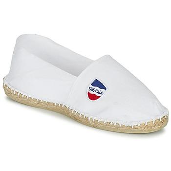 Cipők Gyékény talpú cipők 1789 Cala UNIE BLANC Fehér