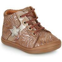 Cipők Lány Magas szárú edzőcipők GBB DUANA Bézs