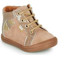 Cipők Lány Magas szárú edzőcipők GBB PRUNE Bézs