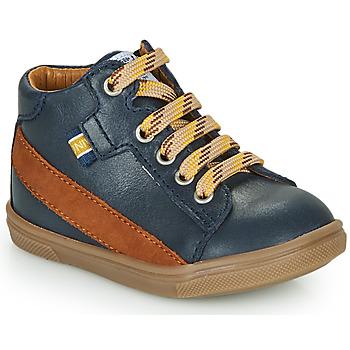 Cipők Fiú Magas szárú edzőcipők GBB WESTY Kék