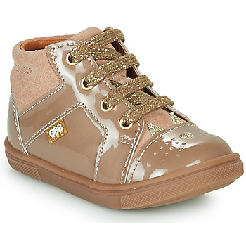 Cipők Lány Magas szárú edzőcipők GBB THEANA Bézs
