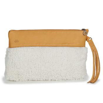 Táskák Női Estélyi táskák Easy Peasy POUCHY FOURRURE Barna