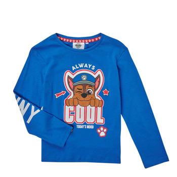 Ruhák Fiú Hosszú ujjú pólók TEAM HEROES  TEE PAW PATROL Kék
