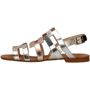 Cipők Női Szandálok / Saruk Yuna Marsella YM1088C SILVER