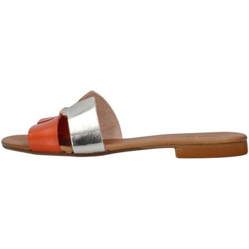 Cipők Női Papucsok Yuna Marsella YM1070 ORANGE