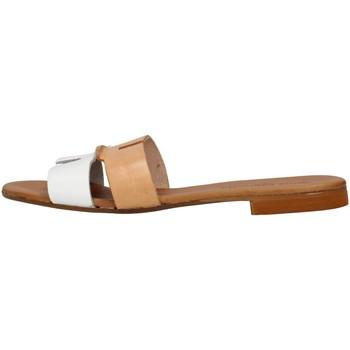 Cipők Női Papucsok Yuna Marsella YM1070 WHITE