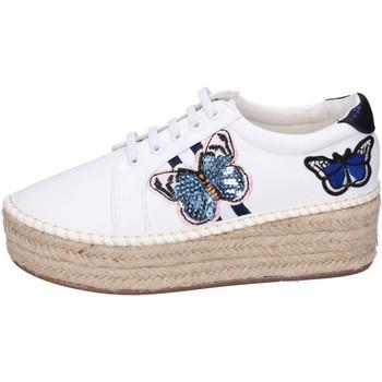 Cipők Női Gyékény talpú cipők Greenhouse Polo Club BH109 Fehér