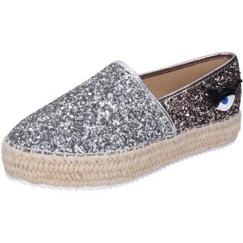 Cipők Női Gyékény talpú cipők Greenhouse Polo Club BH110 Ezüst