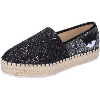 Cipők Női Gyékény talpú cipők Greenhouse Polo Club BH111 Fekete