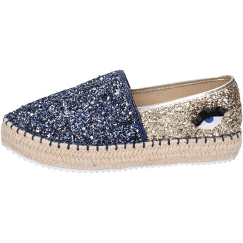 Cipők Női Gyékény talpú cipők Greenhouse Polo Club BH112 Kék