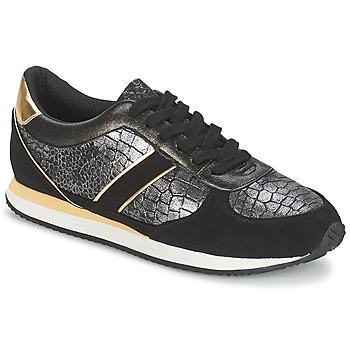 Cipők Női Rövid szárú edzőcipők Balsamik LILA Fekete  / Arany