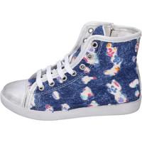 Cipők Lány Magas szárú edzőcipők Happiness BH132 Kék