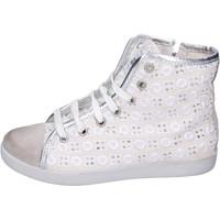 Cipők Lány Magas szárú edzőcipők Happiness BH133 Fehér