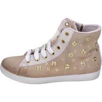 Cipők Lány Magas szárú edzőcipők Happiness BH134 Bézs