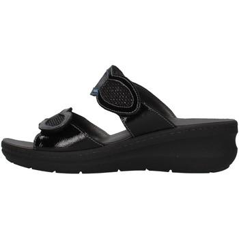 Cipők Női Papucsok Melluso K95203 BLACK