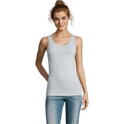 Ruhák Női Trikók / Ujjatlan pólók Sols Jane - CAMISETA MUJER SIN MANGAS Azul